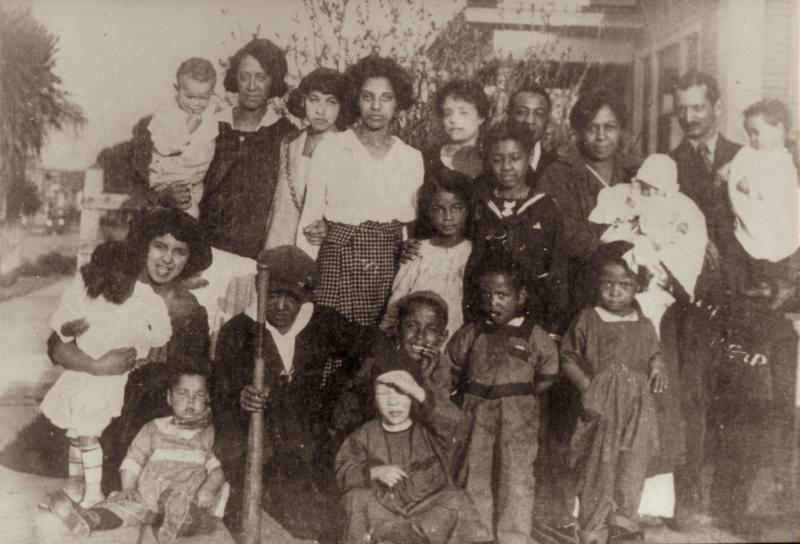 Thomas Henry Reid Family in Berkeley in 1921