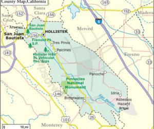 San Benito map  detail