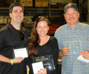 Poker Tournament Winners: Third Place- Matt Romiti, First Place-Caitlin Rousculp and Second Place- Anthony Botelho.