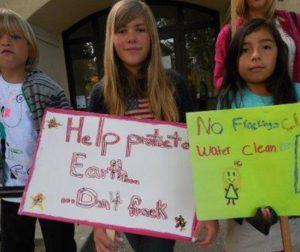 Kids against fracking.JPG