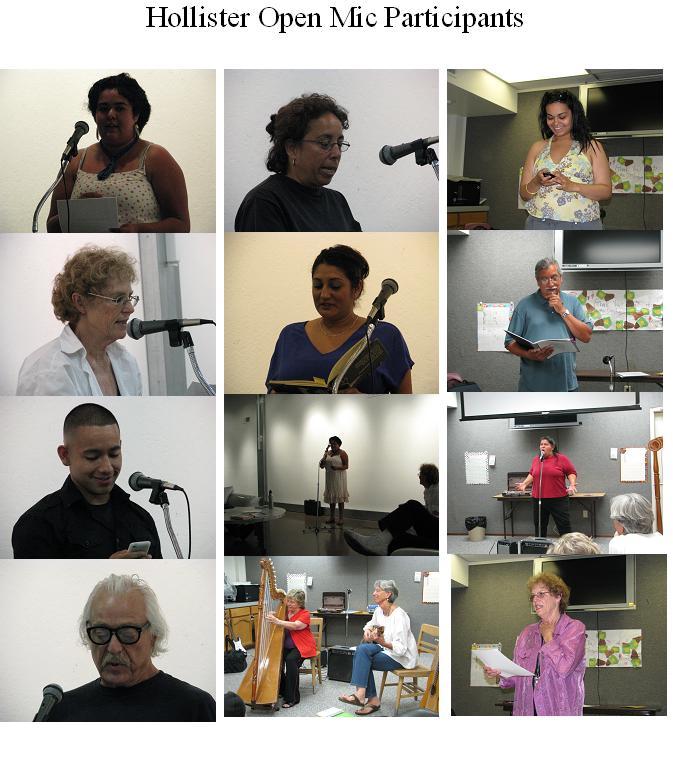 Open mic Participants