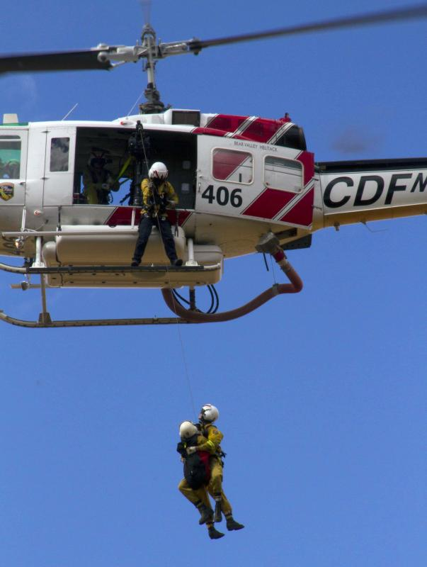 CalFire Helicopter Bear Valley