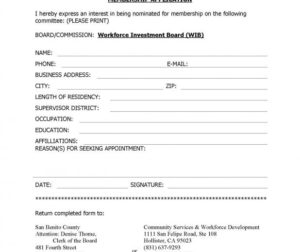 WIB Membership Application