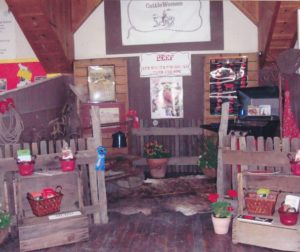 Cattlewomen's Feature Booth at SBC Fair