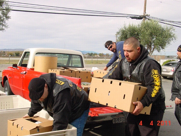 TopsHatter volunteers help out the Community Food Bank of San Benito County