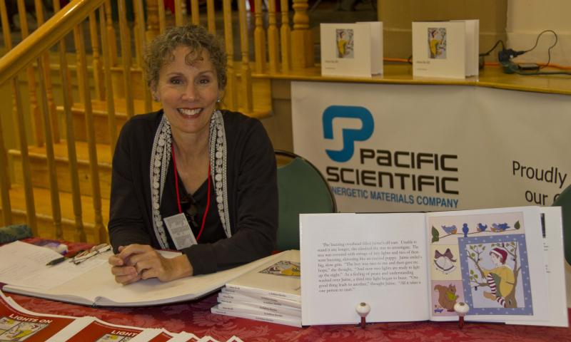 "photo of Kathleen Sheridan, author of ""Jaime the Elf"""
