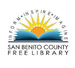 logo San Benito County Library