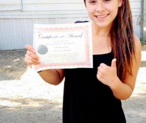 Jocelyn Vasquez is the 2014 recipient of the Class of 1971 Scholarship.