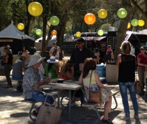 The festival's food court area was a big hit with attendees.