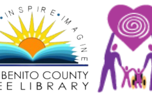 San Benito County Free Library and Special Parents Information Network logos.