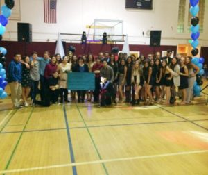 ASB presents check of $13,300 in Kaylin's honor