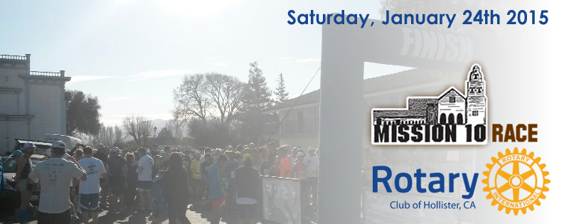 2015 Rotary Mission 10 - 10 Mile, 5k Race & 1 Mile Kids Fun Run