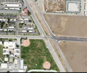 The City of Hollister's Complete Street Plan includes a proposed roundabout at McCray and Park streets.