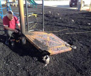 workers clean up calaveras.jpg