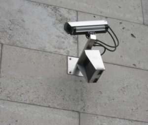 File photo by Flickr user retro rebel design shows surveillance camera.