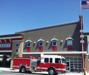 Photo by Hollister Firefighters Association shows Fire Station No. 1.