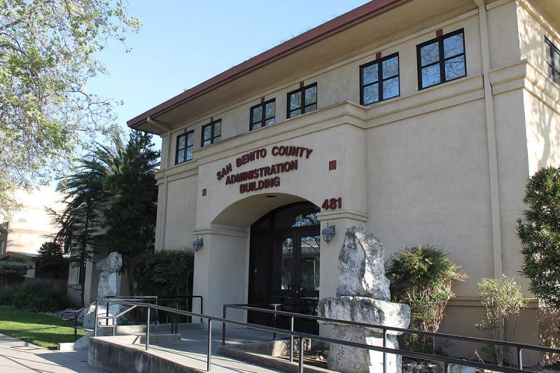 San Benito County Administration Building. File Photo.