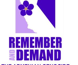 The logo for the San Francisco-Bay Area Armenian Genocide Centennial Committee. Courtesy of the San Francisco-Bay Area Armenian Genocide Centennial Committee.