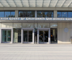 Image by Jason McCormick shows courthouse in San Benito County.
