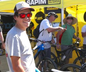 Myles Lucas at Sea Otter Race in Monterey