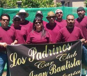 Members of Los Padrinos Car Club. Courtesy of Los Padrinos Car Club of San Juan Bautista.