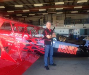 Spencer Suderman and his Pitts Special