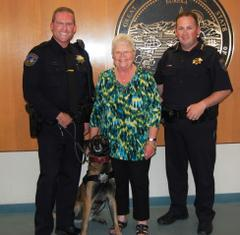 k9 with geri johnson and westrick.jpeg
