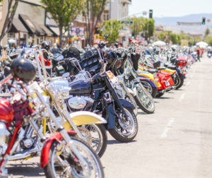motorcycles begin to line streets friday.jpg
