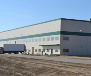 The new facility is only phase one of the company's plans to grow in the county.