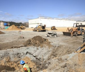 Photo provided by the company: Earthbound Farms, LLC has broken ground on a new 120,000 sq. ft. warehouse, the first phase of a five year expansion plan.