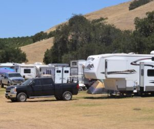 RV parking brings in money to the fair.