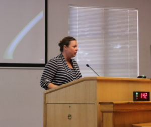 Kristina Chavez Wyatt wants input for all sides on issue.