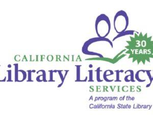 California Library Literacy Services logo