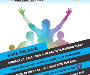 Mission 10 Run January 30