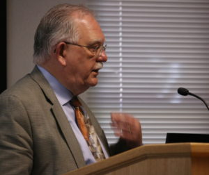 Jim Rydingsword, HHSA director, explained how the new homeless plan will work.
