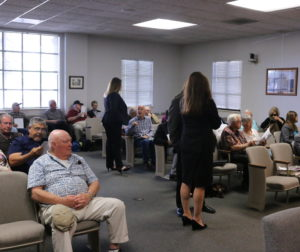 Residents came to the supervisors' meeting to hear about the new community at San Juan Oaks.