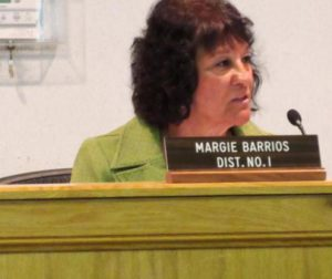 Supervisor Margie Barrios said additional budget requests from the grand jury were tough to meet.