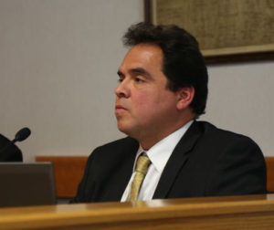 County CAO Ray Espinosa said the county has a responsibility to adhere to its budget. Photos by John Chadwell.