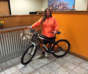 Tamara Pyzak wins Rabobank mountain bike