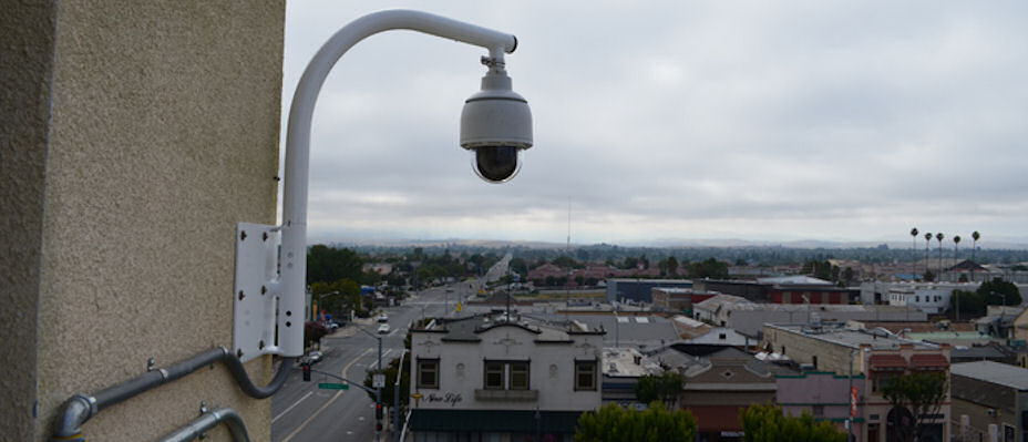 surveillance camera downtown.JPG