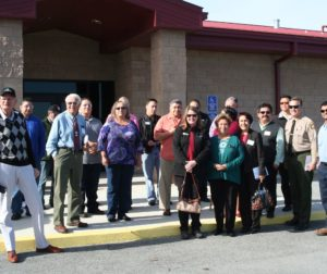 Community members tour wastewater treatment plant..jpg