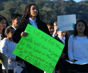 Youth groups learned about significance of civil rights protests.