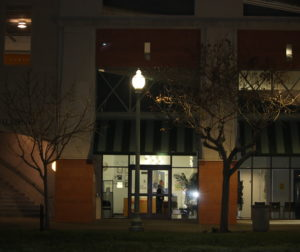 The night meeting at Gavilan annex went on for two hours to discuss college plans.