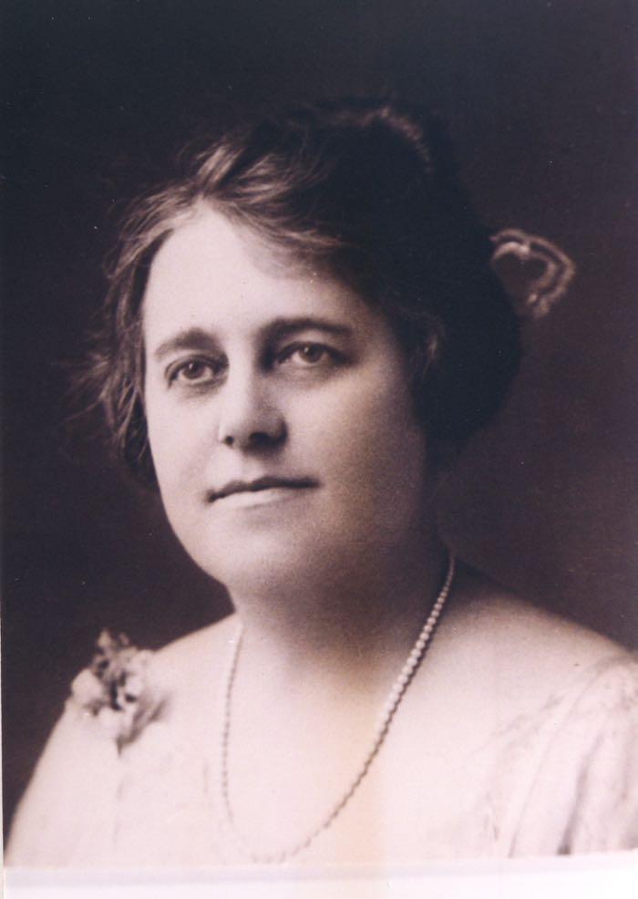 Bertha Briggs as a young woman.