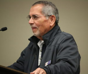 Gordon Machado, HDA president, outlined case for funding request.