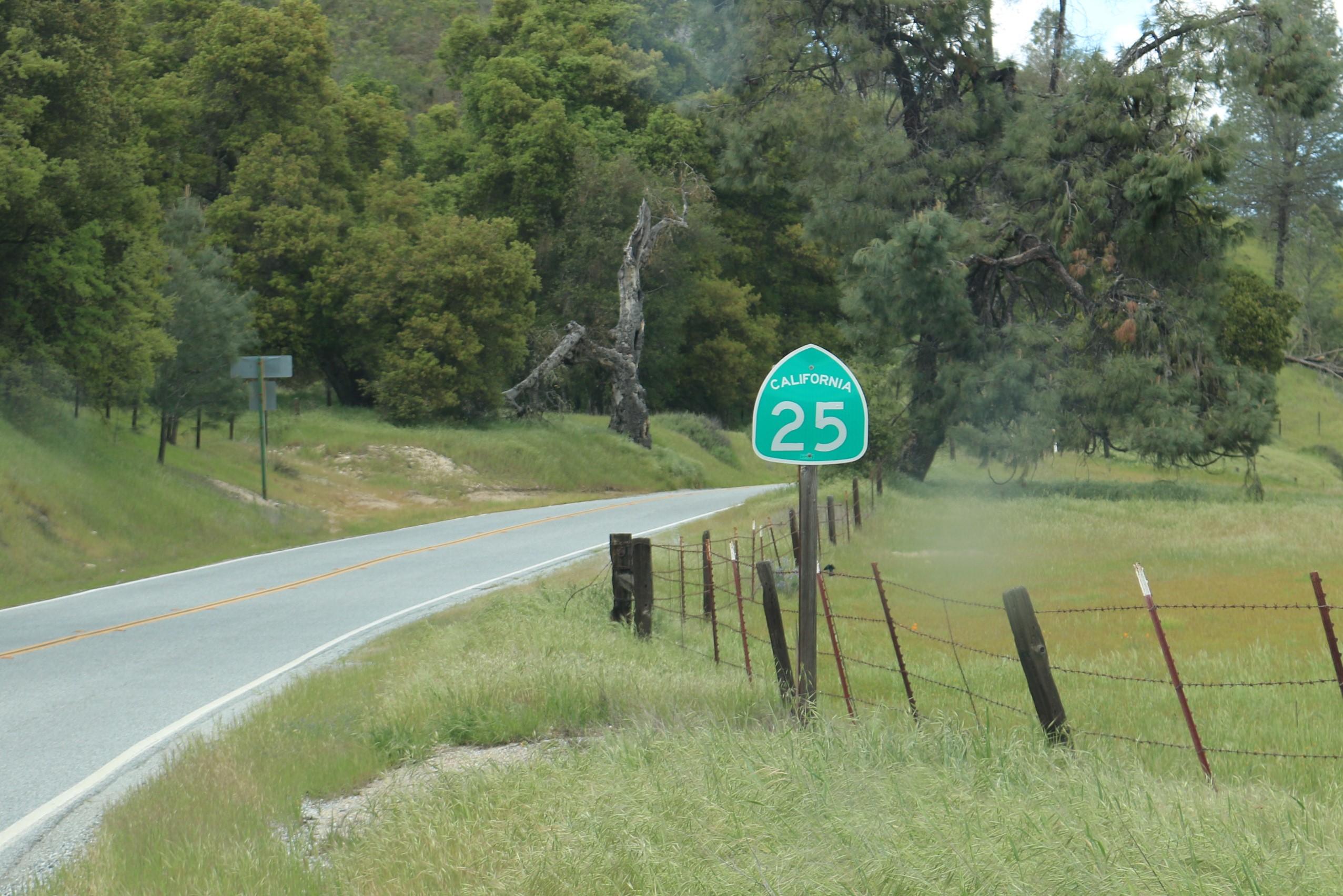 Highway 25. File Photo.