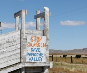 Solargen is long gone, but opposition to solar farm remains strong.