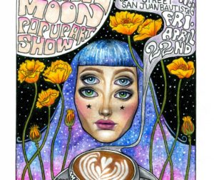 Vertigo Coffee Roasters Pink Moon Pop-Up Art Show