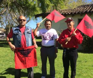 "Javier Ceja, Jose Carmen Lezama and Ramiro Perez at the ""Si Se Puede"" Walk-a-Thon"