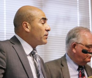 Enrique Arreola and Jim Rydingsword updated supervisors on homeless situation.